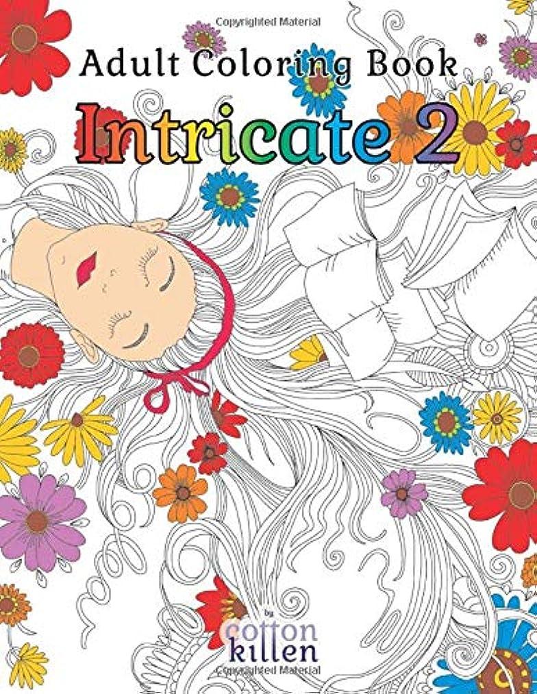 胃スチュアート島ペストAdult Coloring Book - Intricate 2: 49 of the most exquisite designs for a relaxed and joyful coloring time