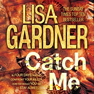Catch Me     Detective D.D. Warren, Book 6              By:                                                                                                                                 Lisa Gardner                               Narrated by:                                                                                                                                 Lorelei King,                                                                                        Kate Harper,                                                                                        Todd Boyce                      Length: 12 hrs and 58 mins     26 ratings     Overall 4.4