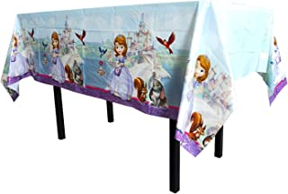 1pcs Disney Princess Sofia The First Themed Birthday Party Decorations – Disposable Sofia The First Plastic Tablecloth | 7...