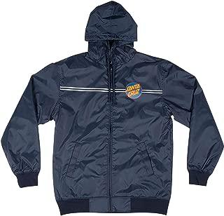 Santa Cruz Boys Dot Hooded Windbreaker Jacket
