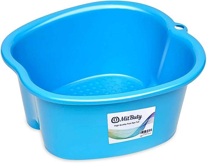 178 opinioni per MitButy Ciotola Spa Bagno- Contenitore per Piedi in Plastica Resistente per