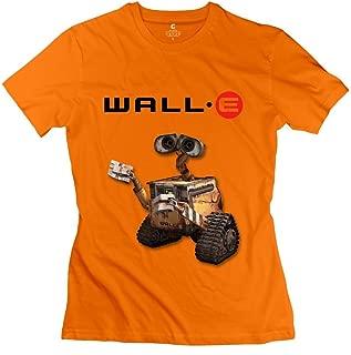 MAM2 Arts Popular Wall E Robot Women's T Shirt White