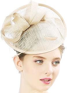 Fascinator con nelle strette Cerchietto Con Rete e Piume /& Perline In 4 Colori