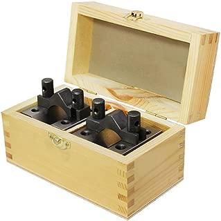 2-3/8'' x 2-3/8'' x 2'' V Block & Clamp Set Multi-use Gauge Gage Machinist Tool