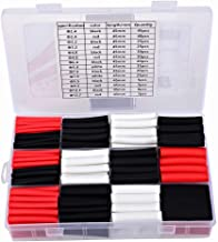 320 pcs 3:1 Shrink Tubing,Heat Shrink Tubing Adhesive (7 Size 3 Color ) Shrink Wrap for Wires Wire Protector Auto and Car Stereo Installs