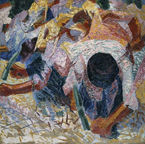 Umberto Boccioni Giclee Canvas Print Paintings Poster Reproduction(Italian Reggio)