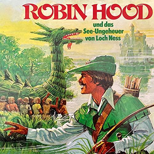 『Robin Hood und das See-Ungeheuer von Loch Ness』のカバーアート