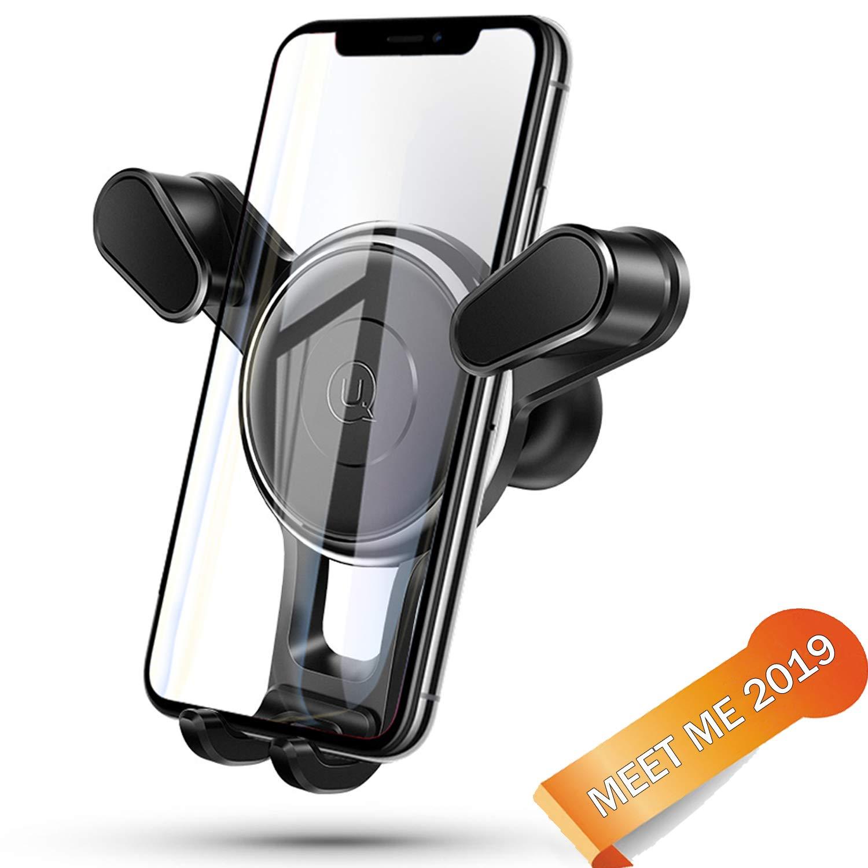Meet me/Soporte móvil para Coche 360 Grados Rotación/Soporte GPS Coche/Sujetador de movil para Coche de Coche para iPhone x/8/7/6 Plus/6s/6/5s/SE, Android Smartphone (Negro): Amazon.es: Electrónica