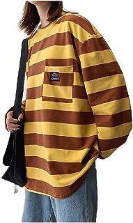 Howely Men's Big Tall Pullover Back Cotton Unisex Crew-Neck Sweatshirt
