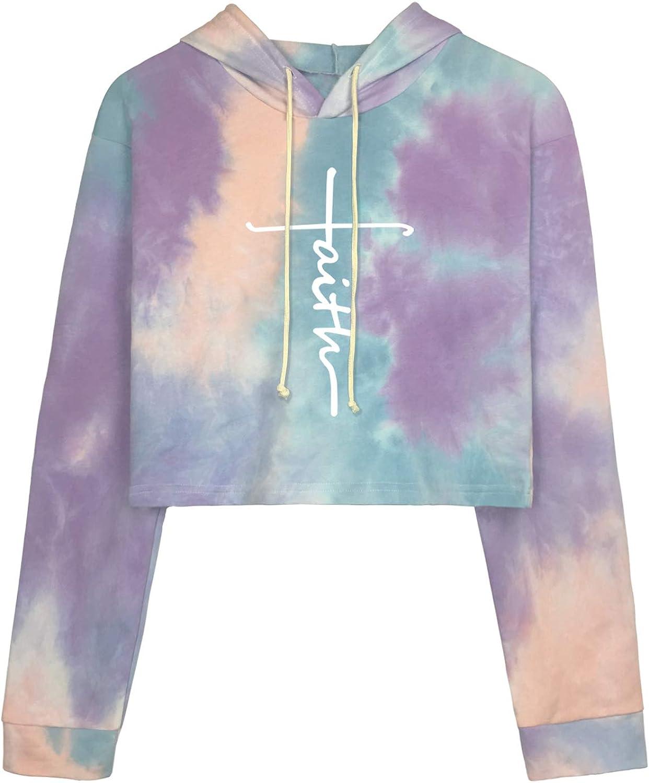 High material BLACKMYTH Women Oakland Mall Cute Crop Top Teens Sweatshirt Juniors Fu Hoodie