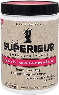 Superieur Electrolytes - Electrolyte Powder Fresh Watermelon - 6.9 oz.