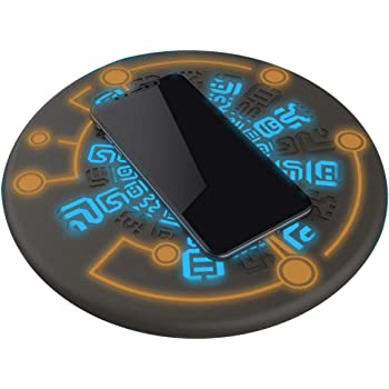 RegisBox Zelda Wireless Charger Sheikah Slate Phone Charger Magic Circle Charger 10W Fast Charging Qi Certified