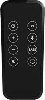Motiexic Remote Control for Bose Solo 5 10 15 Series ii TV Sound System with CR2025 Battery Inside Bluetooth Key Button