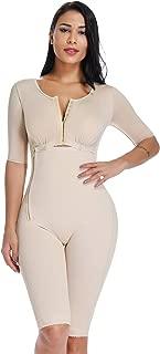 MISS MOLY Bodysuit Body Shaper Post Surgery Seamless Fajas Compression Garment Full Shapewear Black