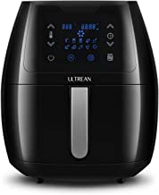 Ultrean 5.8 Quart Air Fryer, Electric Hot Air Fryers Oilless Cooker with 10 Presets, Digital LCD Touch Screen, Nonstick Basket, 1700W, UL Listed
