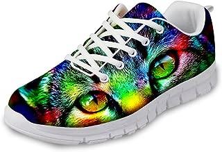 Fashion Tiger Leopard Print Men's & Women's Lightweight Running Sneaker