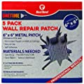 Red Devil 1212 ONETIME Wall Repair Patch, 6 inch