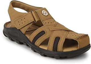 Redchief Men's Leather Sandals and Floaters