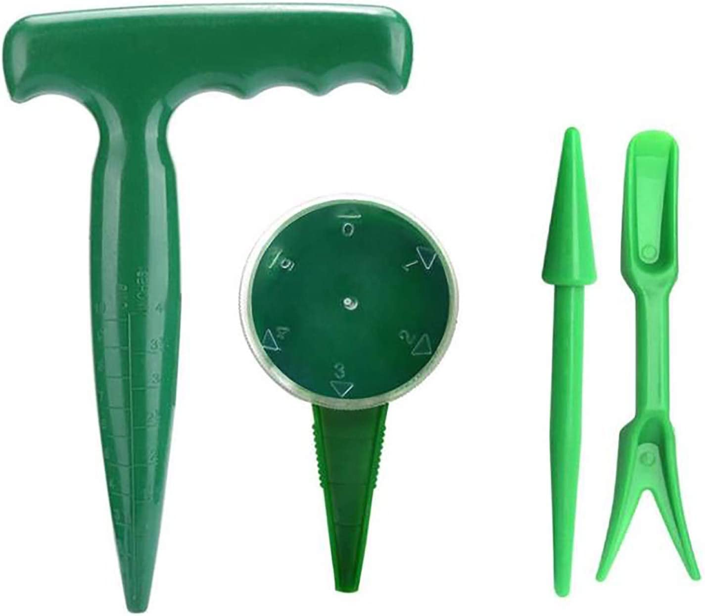 GWOKWAI El Paso Mall Sowing Seeds Dispenser Set Dibber for Free shipping / New Planting Garden S