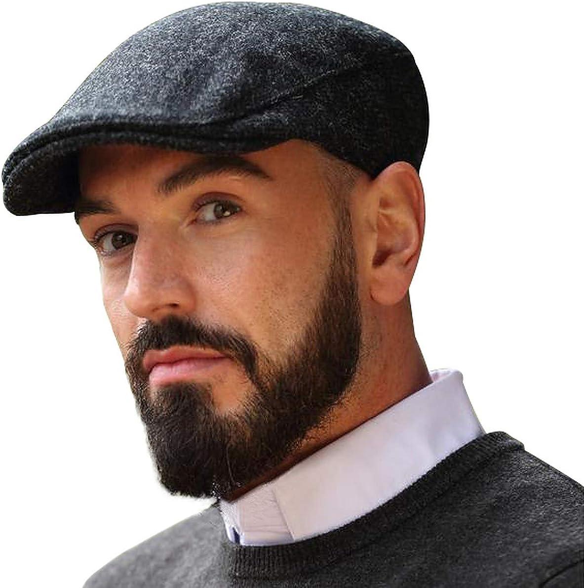 Irish Ivy Cap 100% Pure Wool Max 62% OFF Dark Ireland in Low price Gray Made