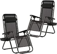 set of 2 zero gravity lounge chairs