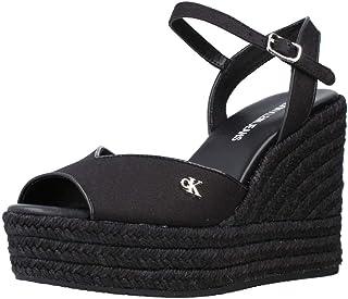 Calvin Klein Sandalo con Cinturino alla Caviglia