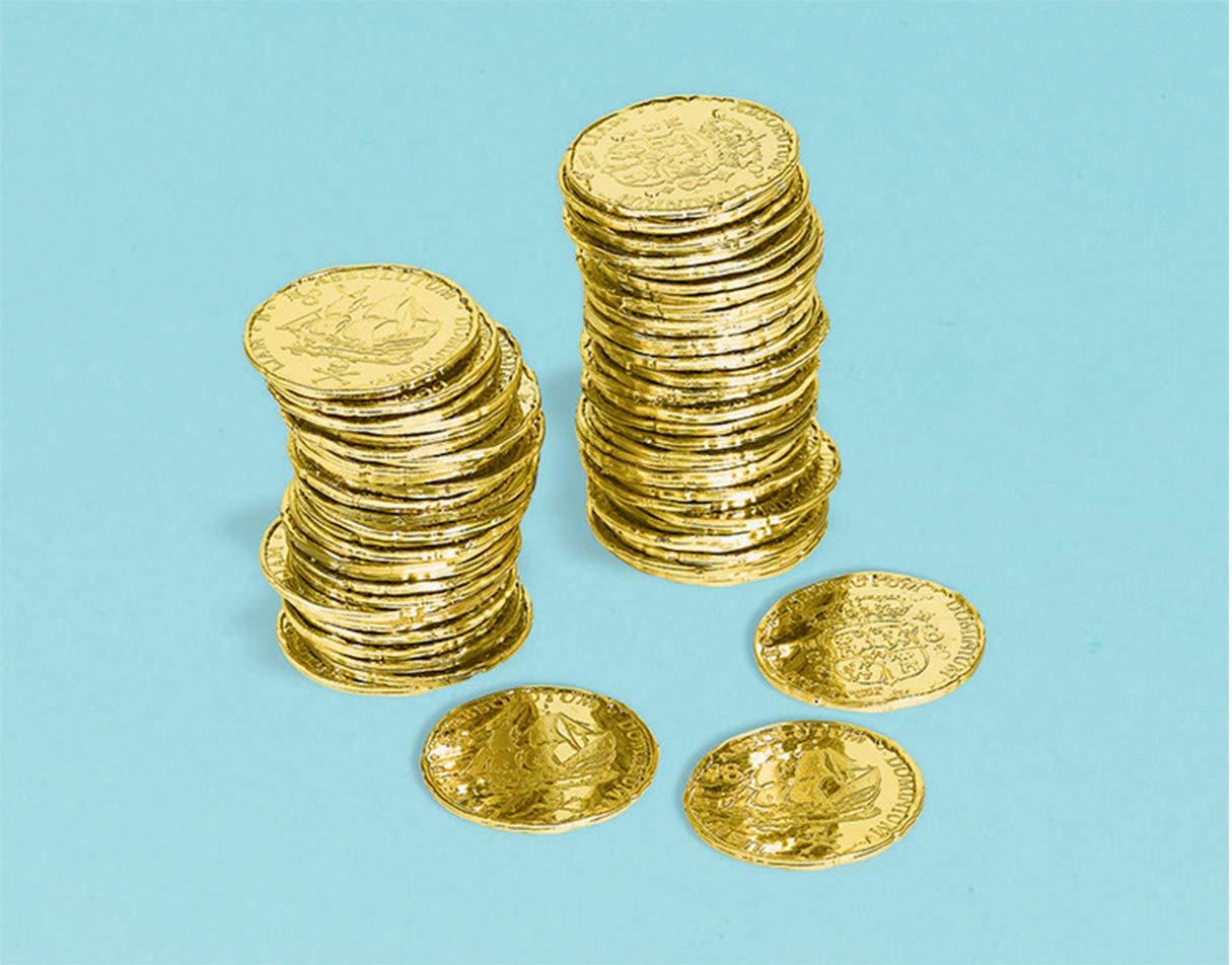 amscan - Colección de Monedas (399879): Amazon.es: Hogar