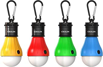 Vdealen Unisex's LED Tent Lantern Lamp Emergency Light Battery Powered Waterproof Portable Bulb for Hiking Fishing Camping...