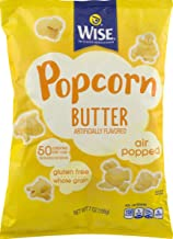 Wise Foods Air Popped Butter Popcorn 6 oz. Bag (6 Bags)