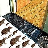 BSTOB Almohadillas Adhesivas para Ratas, Pegamento para trampas para Ratones, Tablero para trampas de Pegamento para roedores, Alfombrilla para Puerta, Alfombrillas Adhesivas para Ratones