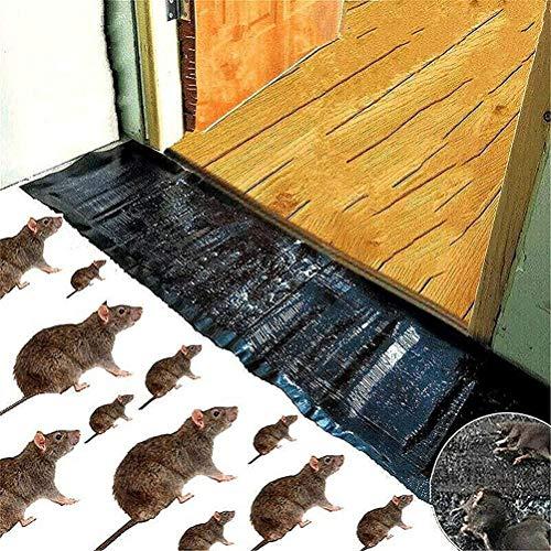 ExH Profi Mausefalle, Rat Sticky Pads Trap klebrige Rattenpads Rattenfalle Kleber Mäusefallen Mausbrettpads Fallen klebrige Mauspads für Mäuse mit Nagetieren im Innen- und Außenbereich