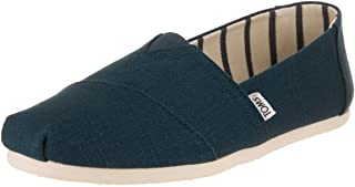 أحذية Toms Chambray كلاسيك، أحذية رجالية كاجوال عصرية سهلة الارتداء
