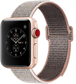 penen Nylon Replacement Bands for Apple Watch Bands 38mm 40mm 42mm 44mm Compatible with Apple Watch Series 4,3,2,1