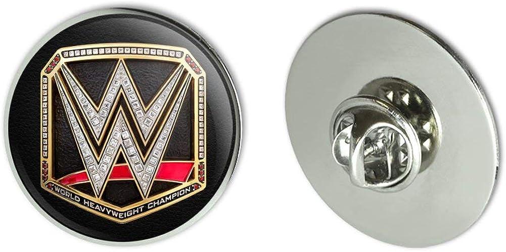 GRAPHICS & MORE WWE World Heavyweight Champion Title Logo Metal 1.1