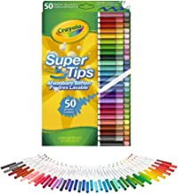 Flamastry zmywalne Crayola Supertips 50 sztuk