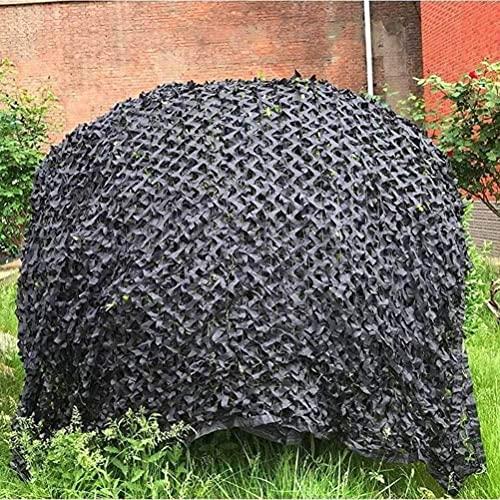 KEANCH Red de Camuflaje para Coche Protección, Camuflaje Red De Camuflaje del Ejército Camo Net Net, para Camping, Caza De Disparo Ocultar Decoraciones, Shade(Size:2x8m(6.6 * 26.2ft))