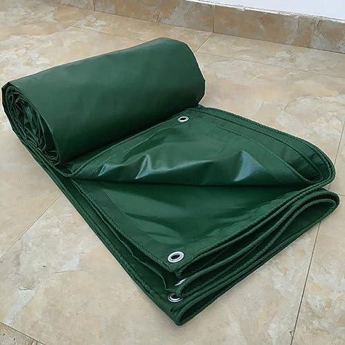Auvent Bache Imperméabilisant Imperméable for Patios Jardin et Camping, Couverture de Qualité Premium for Multi-usages avec Oeillets en Métal, Vert (Taille   3x4m)