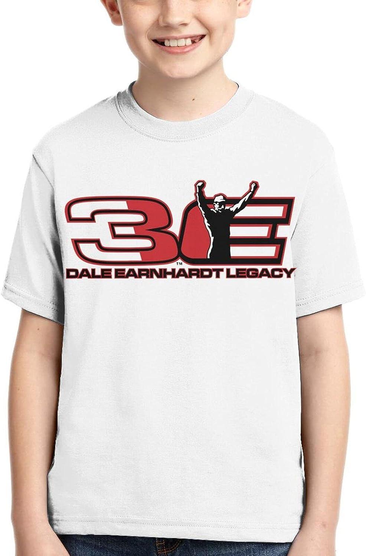 T Dale Earnhardt Sr Cool Boys Girls 3D Printed Top Tee Shirts