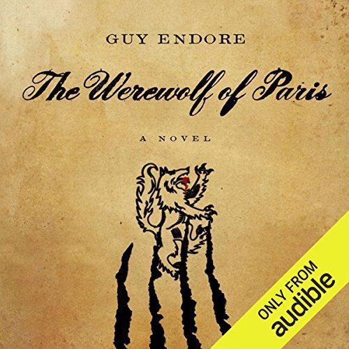 The Werewolf of Paris audiobook cover art