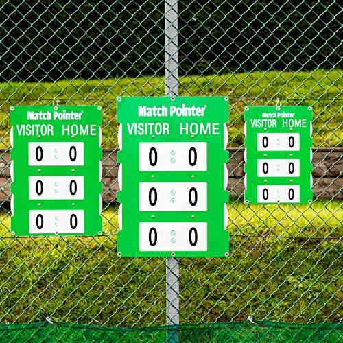 Vermont Spielstandanzeiger Match Pointer in DREI Verschiedene Größen erhältlich – Tennisspielplatzzubehör (Groß)