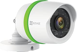 EZVIZ FULL HD 1080p Outdoor Video Security Add-on Bullet Camera, Weatherproof, 100ft Night Vision, Customizable Motion Detection, Included 60ft BNC Cable