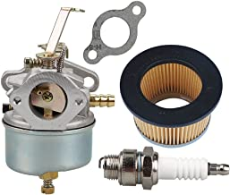 Butom 632230 632272 Carburetor for Tecumseh 631828 631067 631067A 632076 H30 H50 H60 HH60 HH70 Engines Snowblower Troy Bilt Sears Tillers with 30727 Air Filter