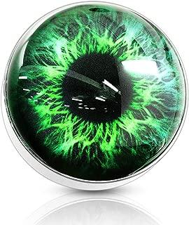 14G Eyeball 316L Surgical Steel Internally Threaded Dermal Anchor Top