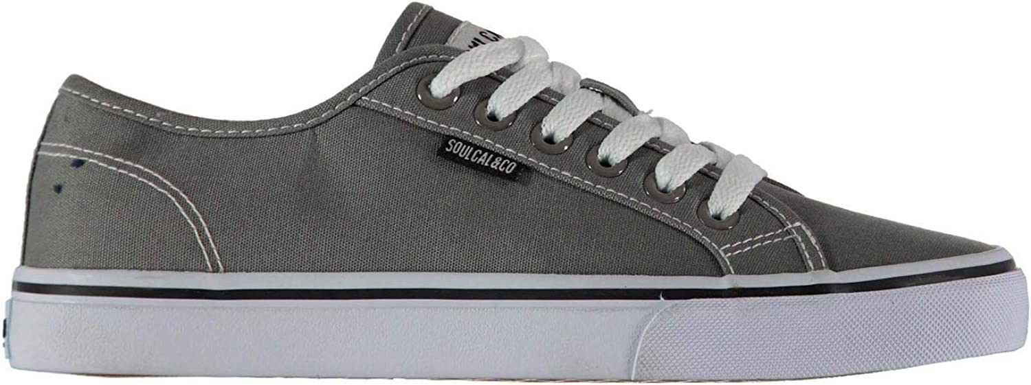 SoulCal Sunrise Lace Canvas shoes Womens Athleisure Trainers Sneakers Footwear