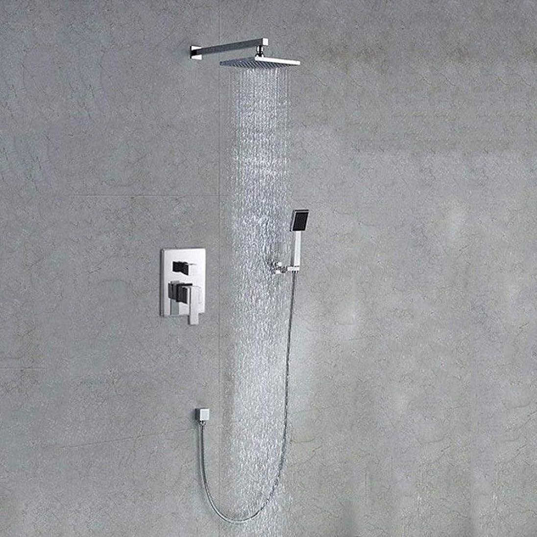湿気の多いデイジーリールシャワーシステム サーモスタットシャワーフィッティングシャワーはハンドシャワー用ミキサーでウォールブラケットシャワートレイ レインシャワーシステム