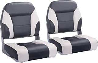 NORTHCAPTAIN T2 Deluxe Low Back Folding Boat Seat (2 Seats)
