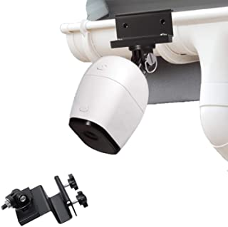 Wasserstein Weatherproof Gutter Mount Compatible with Arlo Pro, Arlo Pro 2, Arlo HD, Arlo Ultra - Greater Height for Your ...