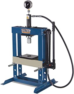 Baileigh HSP-10H Hydraulic Shop Press, 10 Ton Capacity, 13-1/2