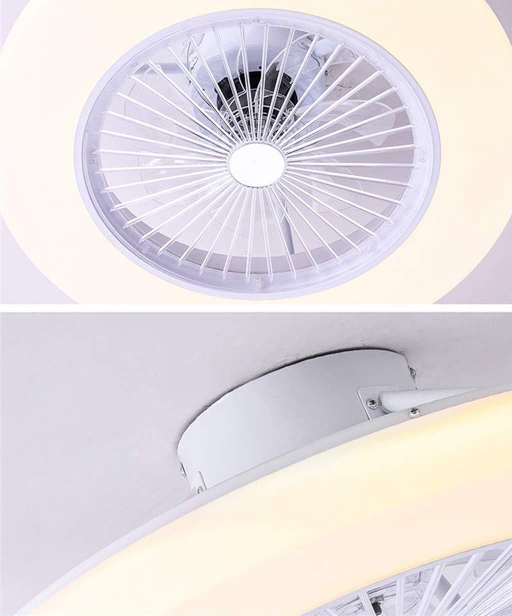 SLZ Ventilador De Techo HGW con Iluminación, Ventilador De Techo LED Ventilador De Luz, Velocidad del Viento ...