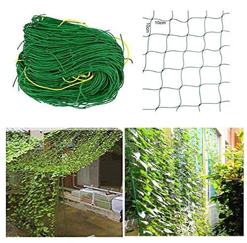 rg-vertrieb Ranknetz Rankhilfe Pflanzennetz Gartennetz Stütznetz Kletterpflanzen 6 Größen (1,8x2,7m)